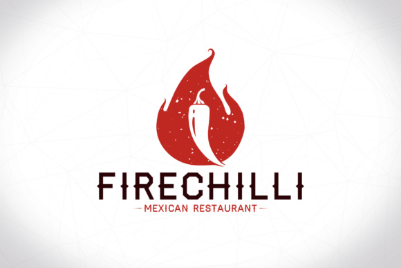 Chilli Flame Logo Template Graphic by vectorwithin - Creative Fabrica - flame logo