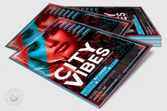 Electro Flyer Template V3 Graphic by ThatsDesignStore - Creative Fabrica