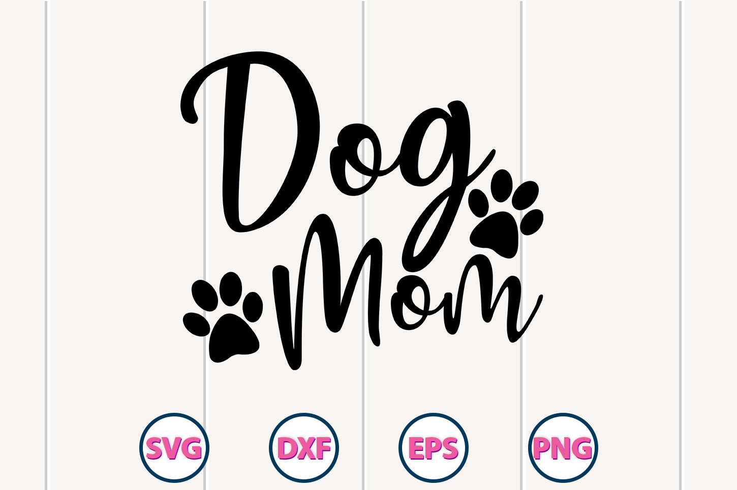 Dog Mom Cutting Svg Graphic By Graphiccyle Creative Fabrica