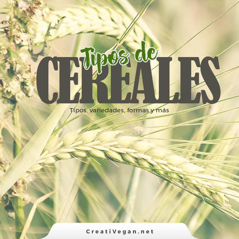 Tipos de cereales | CreatiVegan.net