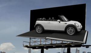 Wrap Your Mini   3D Mapping Billboard Guerrilla Marketing Photo