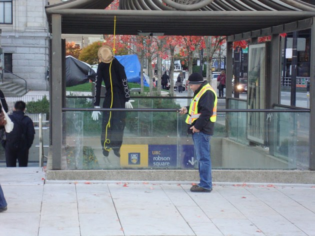 Fake Bodies Scattered Around Canada Promote Suicide Awareness in Guerrilla Campaign Guerrilla Marketing Photo
