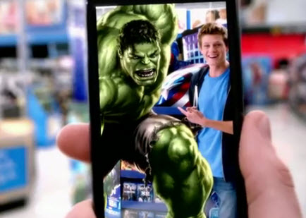 Become a Superhero by Using The Avengers AR App Guerrilla Marketing Photo
