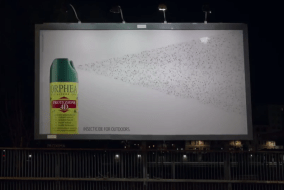The Insect Trapping Billboard