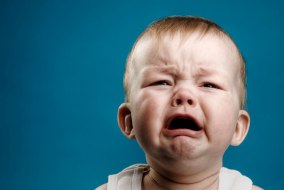 stock baby crying