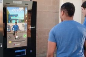 Pepsi Interactive Football Vending Machine 1