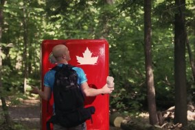 Molson Beer Fridge O Canada 3