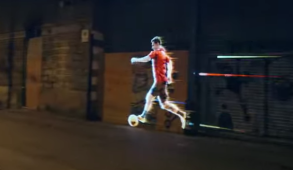 Adidas Leo Messi Projection Mapping Barcelona