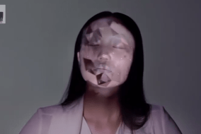 Real-Time Makeup Projection Mapping Is Absolutely Mesmerizing