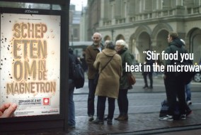 Living Billboards With Live Bacteria Spreads Awareness of Food Poisoning In Infectious Way 4