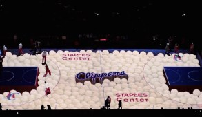 LA Clippers 3D Projection Mapping