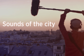 Thalys Trains records Sounds of the City