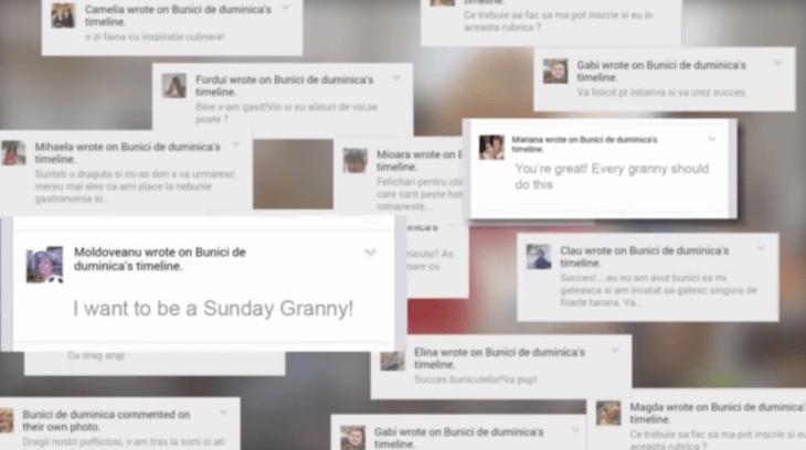 "Vodafone Romania Launches ""Sunday Grannies to Beat Loneliness Guerrilla Marketing Photo"