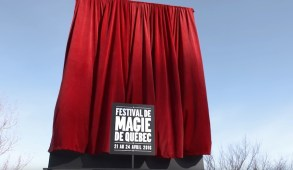 Quebec City Magic Festival Billboard Disapper