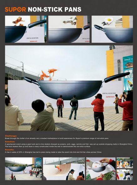 Creative Outdoor Advertising Examples Guerrilla Marketing Photo