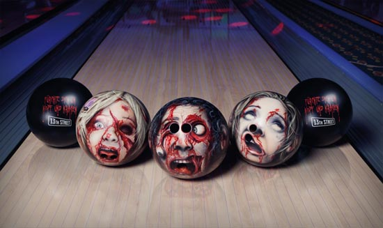 13th Streets Bowlingheads Campaign Gets In Your Head Guerrilla Marketing Photo