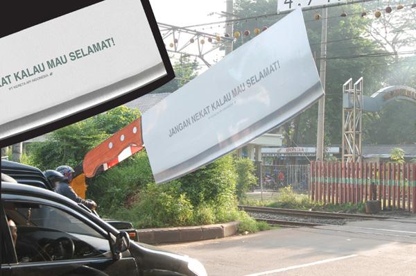 otopark gerilla reklamı