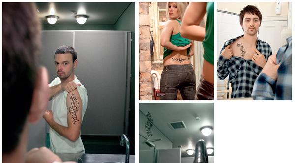 dövme reklamı