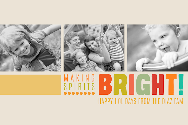 We Made This For You Free Holiday Card Templates For Photographers - free xmas card template