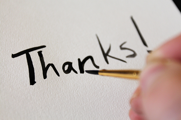 Use Watercolor to Make DIY Thank-You Cards - make your own thank you cards