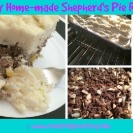 Shepherds Pie Recipe – Home-made and Yummy!