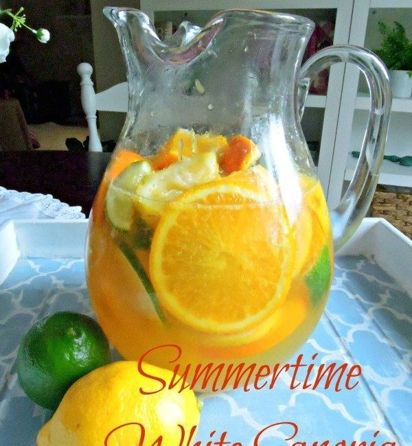 Summertime White Sangria