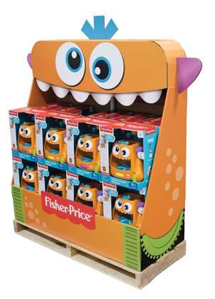 Walmart Fisher Price Monster Half Pallet Creative Magazine