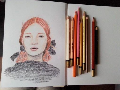 21/30 portrait challenge by Cristina Parus @ creativemag.ro