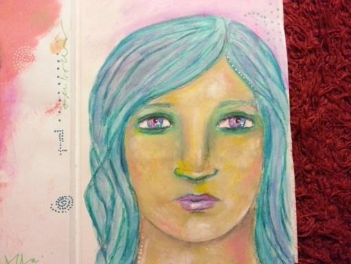29/30 portrait challenge by Cristina Parus @ creativemag.ro