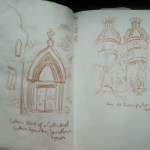 Barcelona Buildings Quick Sketches