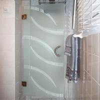 Etched & Sandblasted Shower Doors | Creative Mirror & Shower