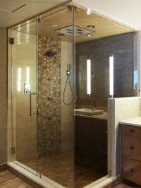 Frameless Shower Doors & Enclosure | Creative Mirror & Shower