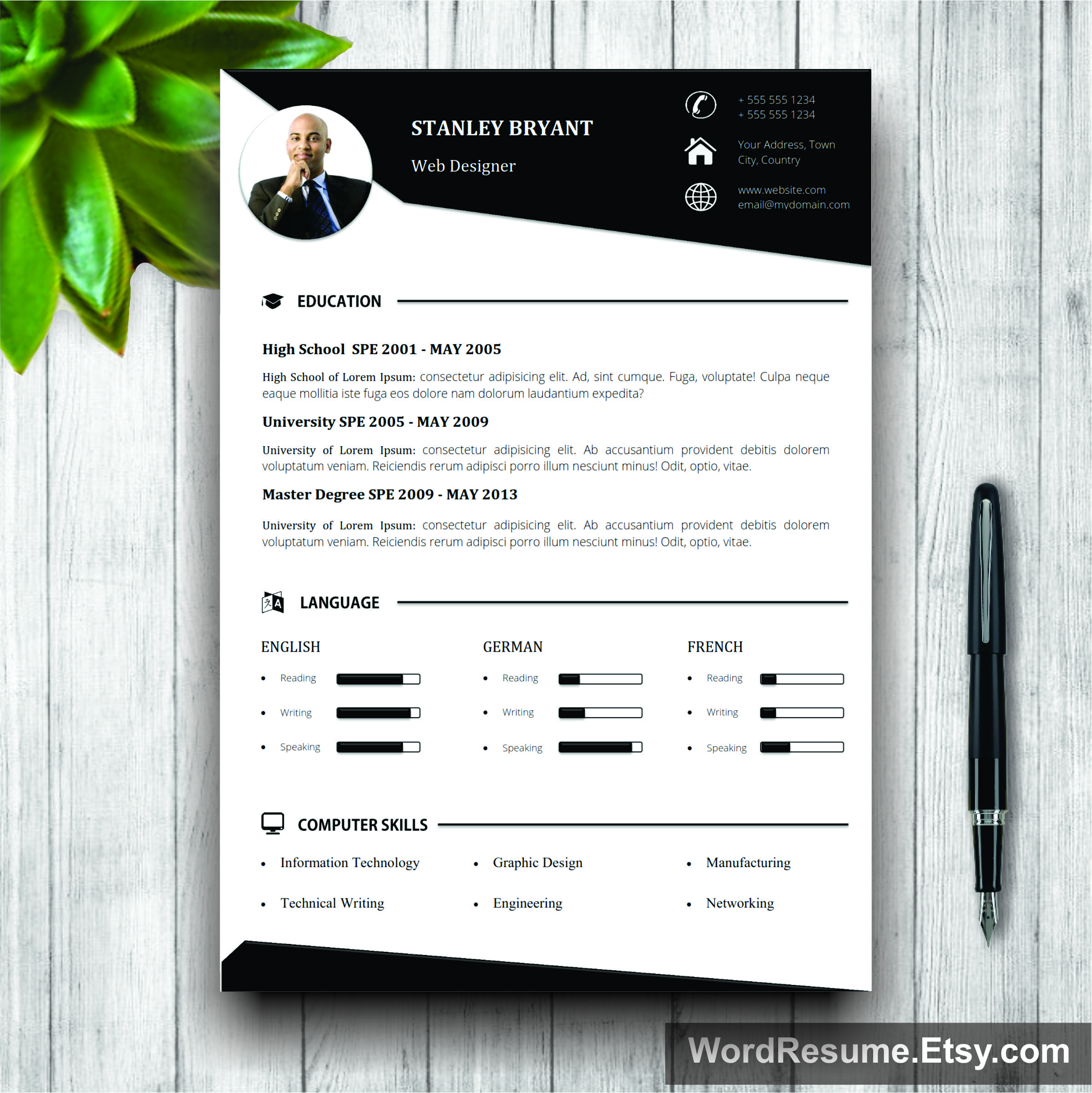 cv document download