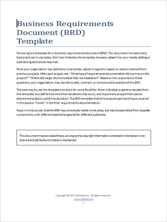 11+ Business Requirements Documents Free \ Premium Creative - business requirement documents