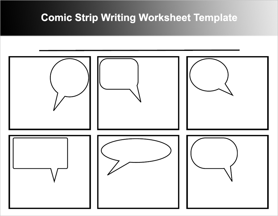 16+ Comic Strip Template Free Word, PDF, Doc Formats