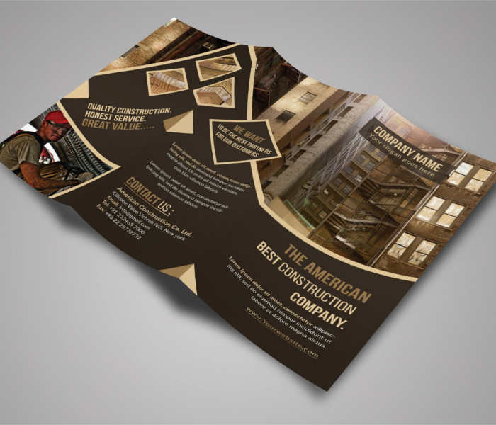 19+ Construction Company Brochure Templates Free PDF Templates - architecture brochure template