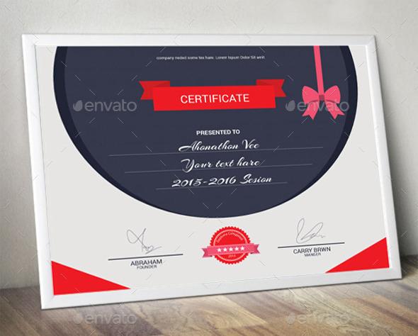 28+ Creative Certificate Templates Free  Premium Templates - corporate certificate template
