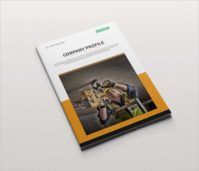 19+ Construction Company Brochure Templates Free PDF Templates - Company Brochure Templates