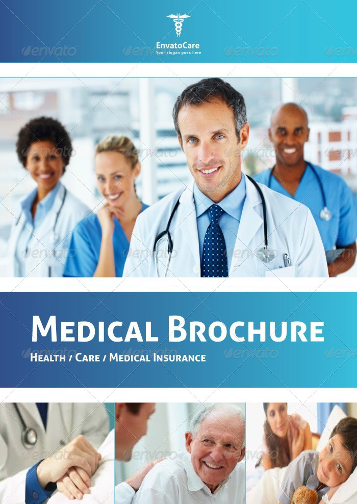 Medical  HealthCare Brochures Templates Creative Template