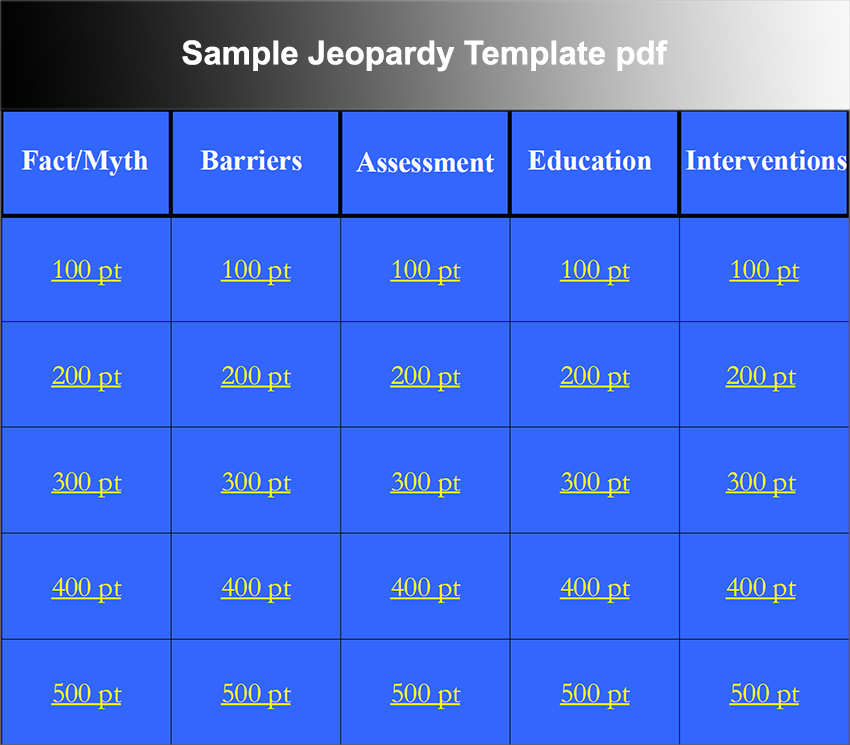 Jeopardy Format Blank Jeopardy Powerpoint Game Template Search Results - jeopardy powerpoint template