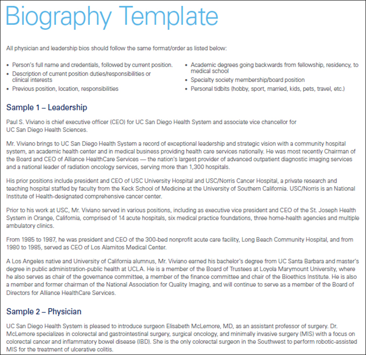 Biography Templates - Free Word, PDF Documents Creative Template - microsoft word biography template