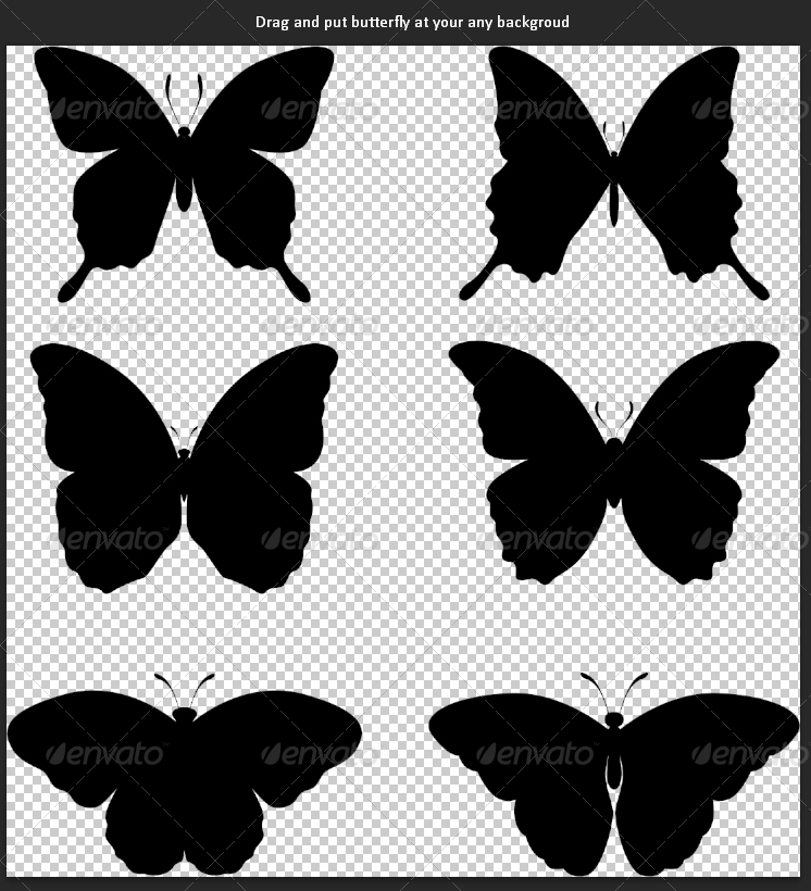 20+ Butterfly Templates - PSD, illustration, Vector Designs - butterfly template
