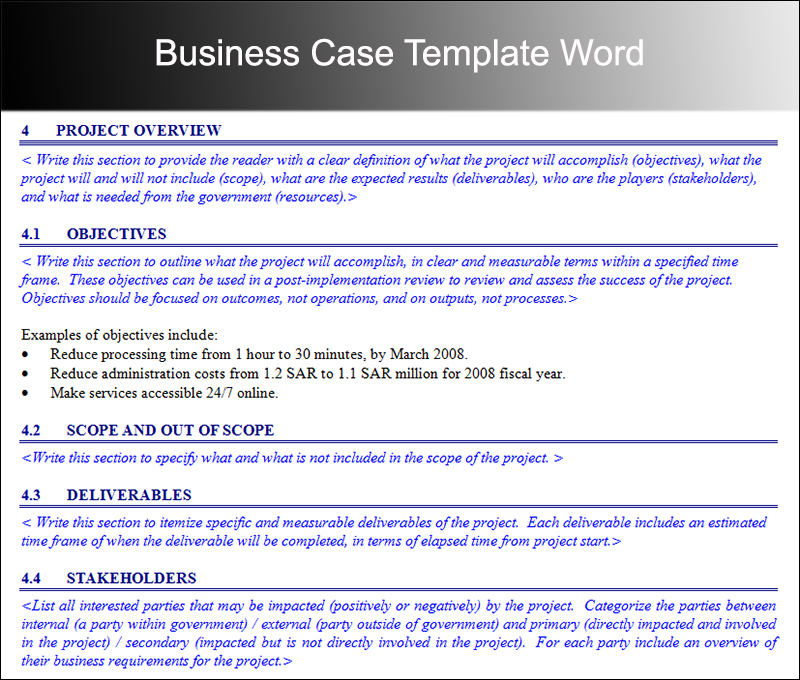 8+ Business Case Template Free Word, PDF, Excel, Doc Formats - Business Case Templates Free