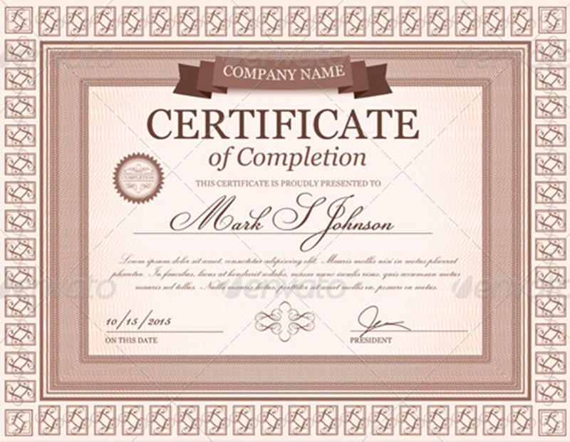 Graduation Certificate Templates - Creativetemplate - graduation certificate