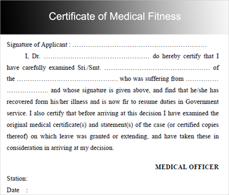 fit to work medical certificate sample - Maggilocustdesign - medical certificate from doctor