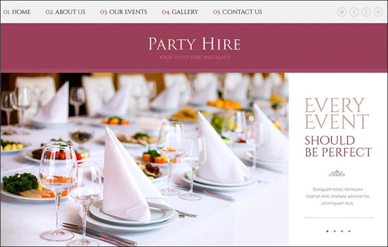 15+ Event HTML5 Website Templates Free  Premium - event management template
