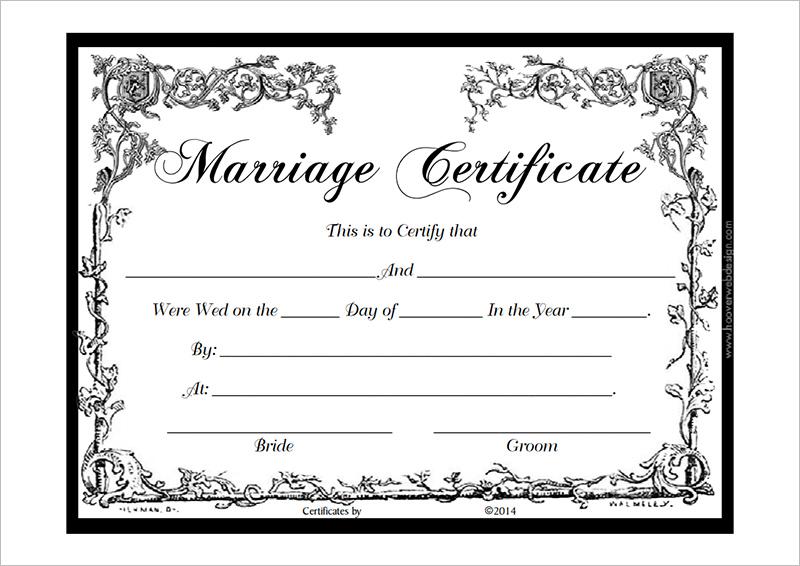 Marriage-Certificate-Template-PDFjpg - school certificates pdf