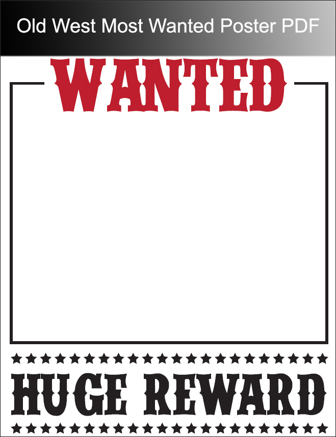50+ Printable Wanted Poster Templates Free PDF, PSD Designs - example of a wanted poster