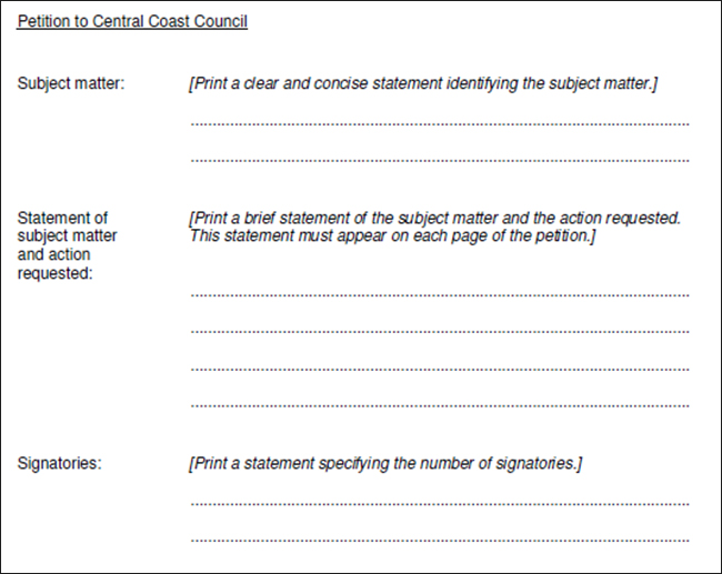 Petition Templates - Free PDF, Word Documents Download Creative - creating signers form for petition