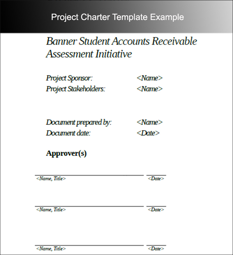 8+ Project Charter Templates Free Word, PDF, Excel Formats